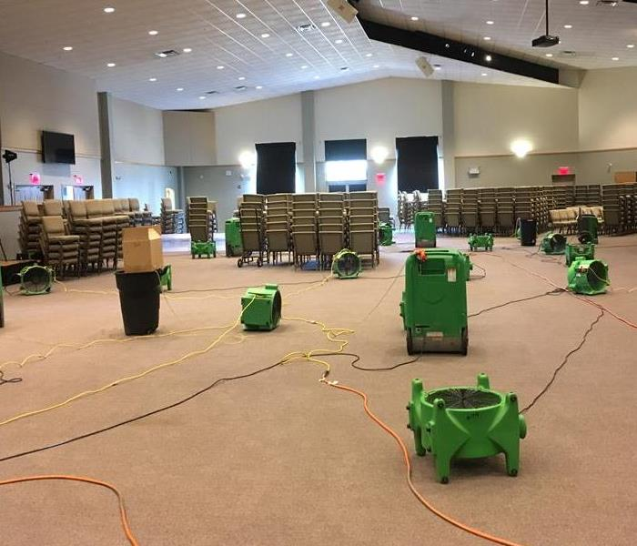 Church suffered from Water Loss